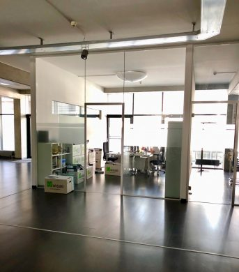 Großzügiges Büro mit Loftcharakter, 60314 Frankfurt, Ausstellungsfläche zur Miete