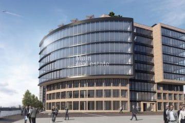 Hafenbogen – Büroneubau-Projekt, 60327 Frankfurt, Office area